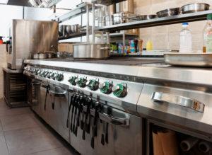 充実した厨房機器