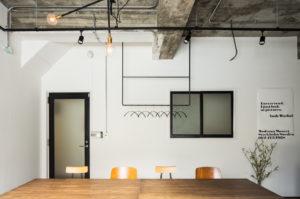 おしゃれなデザイン空間レンタルキッチン