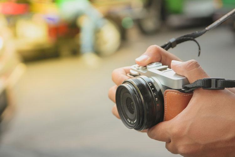 ミラーレスカメラ